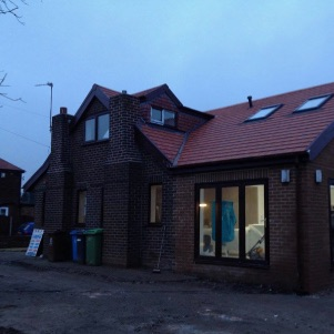 House extension Chadderton